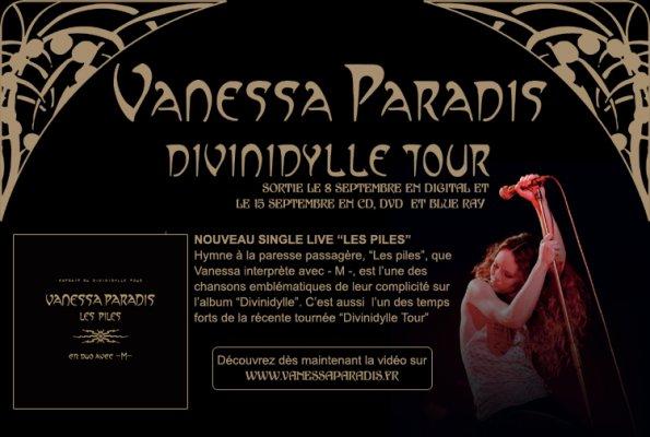 Vanessa Paradis - Divinidylle Tour affiche